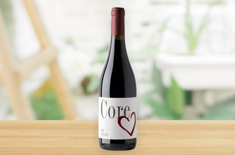 還暦のお祝いに最適な赤ワインがセットになった電報「サンタ アナ」
