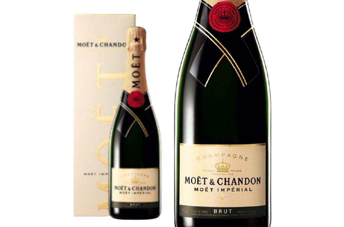 シャンパン「モエ・エ・シャンドン」