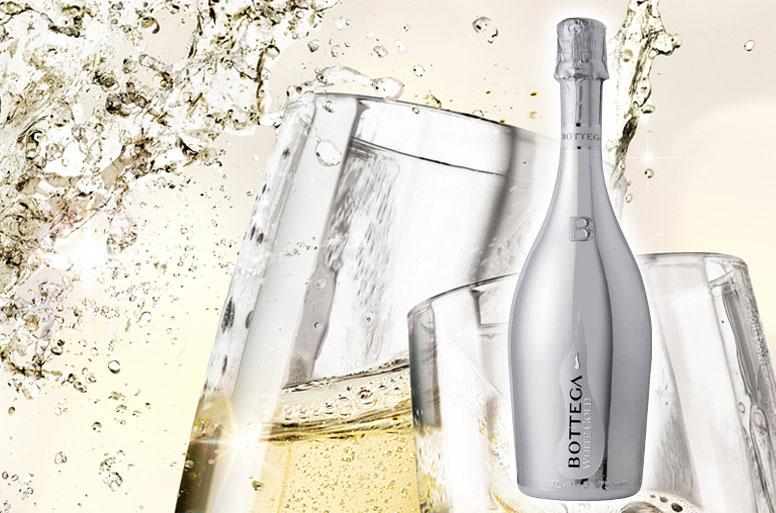 結婚の祝いに電報と共にシャンパンを送る「ボッテガスプマンテ」